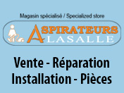 Aspirateurs Lasalle Inc [R:99]