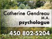 Catherine Gendreau, M.A., psychologue [R:99]