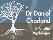 Dr. Daniel Charland D.Ps. MBA Psychologue [R:99]