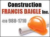 Construction Francis Daigle Inc. [R:99]