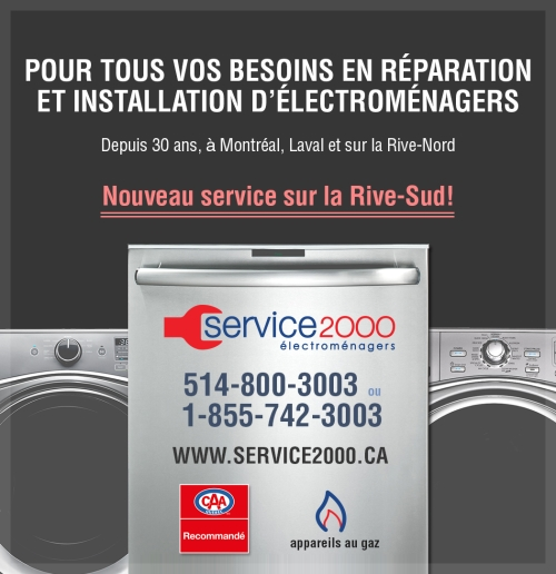 Appareils lectrom nagers st eustache qc annuaire 411 for Reparation electromenager st eustache