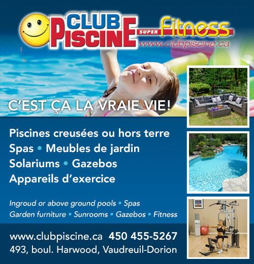Piscines spas annuaire 411 for Club piscine canada