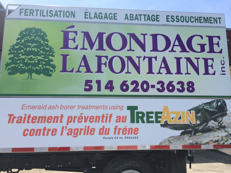 Photo de Émondage Lafontaine (2006) inc. - Tree Services